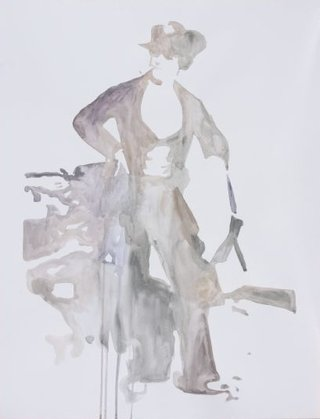 Ulla von Brandenburg: Water colours on paper, 2005